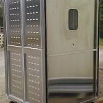 Cabine de douche en aluminium